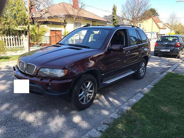 verkauft bmw x5 x54 4 liter benziner s gebraucht 2000 km in wien. Black Bedroom Furniture Sets. Home Design Ideas