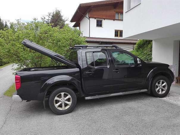 verkauft nissan navara pickup pritsc gebraucht 2009 km in leutasch. Black Bedroom Furniture Sets. Home Design Ideas