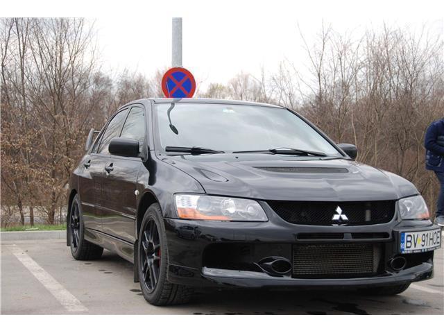 verkauft mitsubishi lancer evo ix limo., gebraucht 2008, 105.000 km
