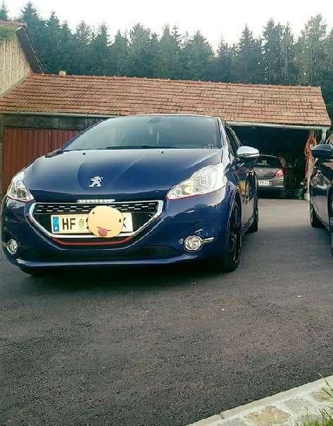 Verkauft peugeot 208 1 6 thp 200 gti gebraucht 2013 90 for Peugeot 208 gti gebraucht