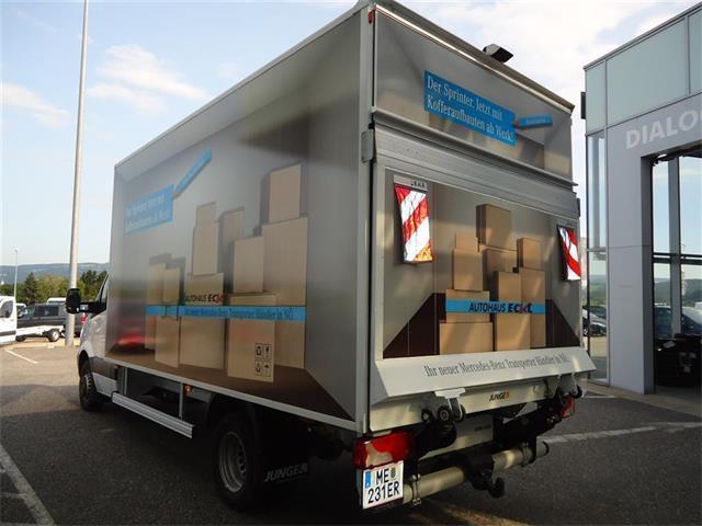 verkauft mercedes sprinter 516 cdi 432 gebraucht 2017 km in bergland. Black Bedroom Furniture Sets. Home Design Ideas
