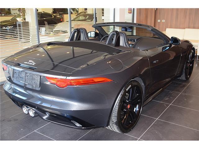 gebraucht cabrio 3 0 aut jaguar f type 2017 km. Black Bedroom Furniture Sets. Home Design Ideas