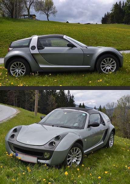 verkauft smart roadster roadster coup gebraucht 2003. Black Bedroom Furniture Sets. Home Design Ideas