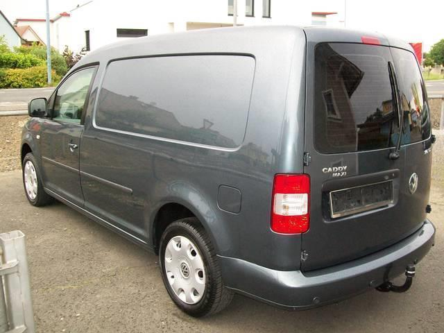 verkauft vw caddy maxi kastenwagen 2 0 gebraucht 2010. Black Bedroom Furniture Sets. Home Design Ideas