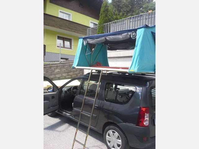 dacia logan mcv camping car dacia logan mcv f r camper. Black Bedroom Furniture Sets. Home Design Ideas
