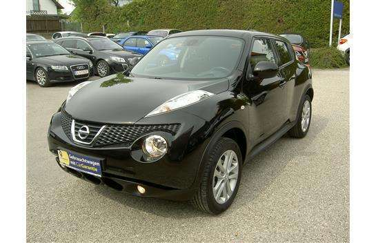 verkauft nissan juke 1 6 tekna abholpr gebraucht 2010. Black Bedroom Furniture Sets. Home Design Ideas