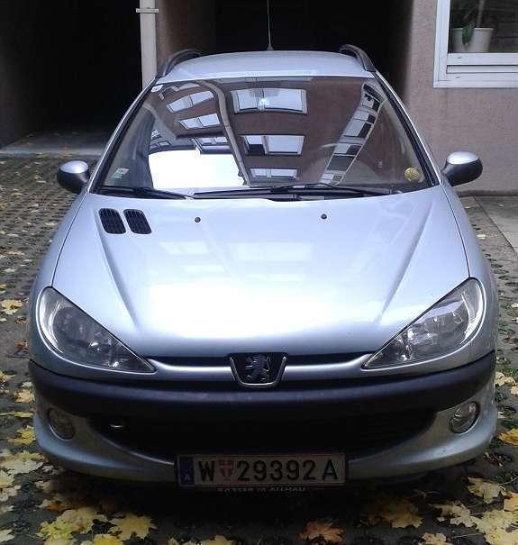 Verkauft Peugeot 206 SW Sport Premium ., Gebraucht 2002