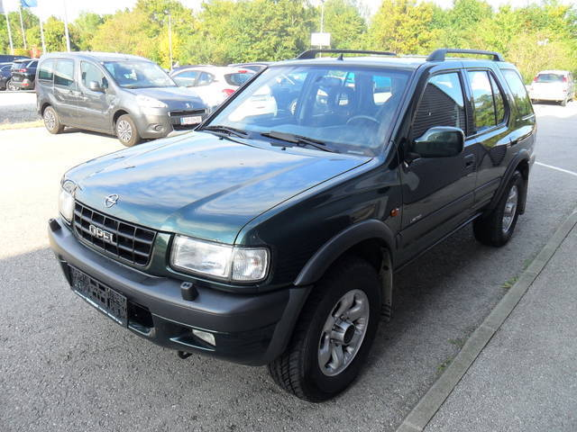 verkauft opel frontera limited 3 2 v6 gebraucht 1999 km in asparn tulln. Black Bedroom Furniture Sets. Home Design Ideas