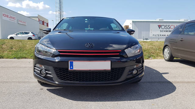 verkauft vw scirocco 2 0 tsi gebraucht 2008 km in. Black Bedroom Furniture Sets. Home Design Ideas