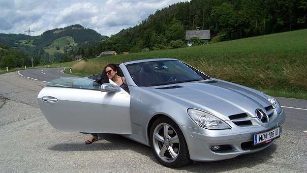 verkauft mercedes slk200 slk klassecab gebraucht 2005 km in voitsberg. Black Bedroom Furniture Sets. Home Design Ideas