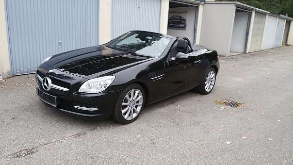 verkauft mercedes slk200 slk klasse r1 gebraucht 2012 km in v cklabruck. Black Bedroom Furniture Sets. Home Design Ideas