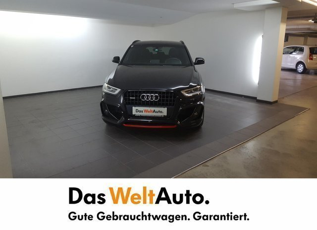 verkauft audi q3 2 0 tdi quattro black gebraucht 2014. Black Bedroom Furniture Sets. Home Design Ideas
