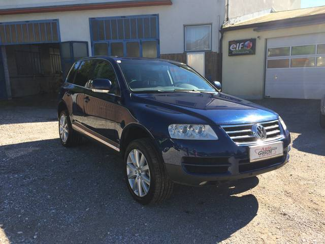 verkauft vw touareg 2 5 r5 tdi gebraucht 2004 km in irdning. Black Bedroom Furniture Sets. Home Design Ideas