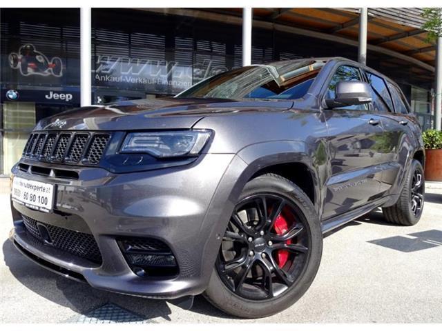 verkauft jeep grand cherokee 6,4 v8 he., gebraucht 2017, 24.900 km