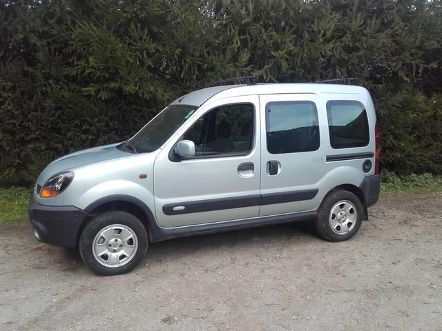 verkauft renault kangoo 4x4 pkw gebraucht 2003 km in w rgl. Black Bedroom Furniture Sets. Home Design Ideas