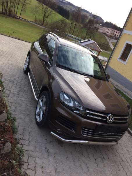 verkauft vw touareg suv offroad gebraucht 2011 km in steinakirchen am. Black Bedroom Furniture Sets. Home Design Ideas