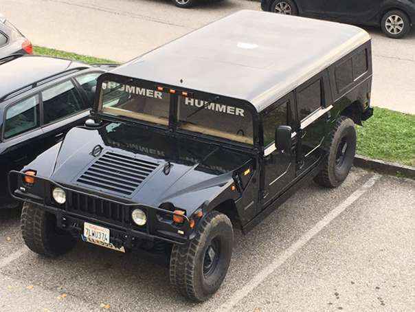 verkauft hummer h1 suv gel ndewagen gebraucht 1996 km in breitbrunn. Black Bedroom Furniture Sets. Home Design Ideas