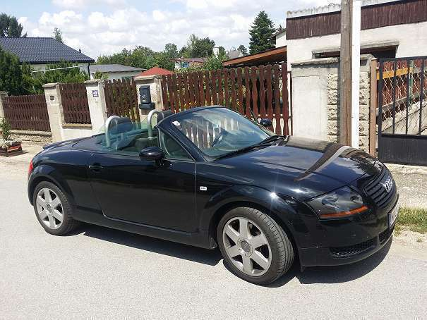 verkauft audi tt roadster cabrio gebraucht 2002 km in g nserndorf. Black Bedroom Furniture Sets. Home Design Ideas
