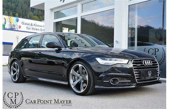 verkauft audi a6 avant 3 0 tdi clean d gebraucht 2015. Black Bedroom Furniture Sets. Home Design Ideas