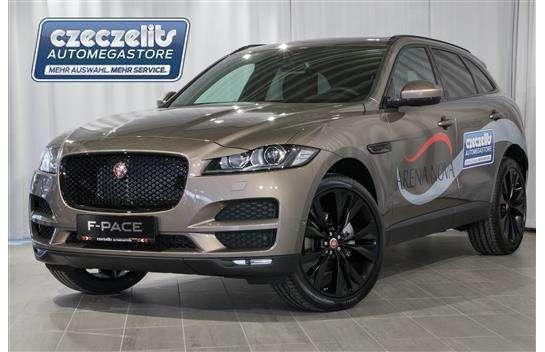 verkauft jaguar f-pace 20d awd pure au., gebraucht 2016, 15.000 km