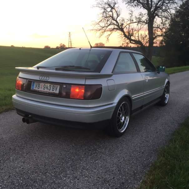 Verkauft Audi 80 Coupe 23 E 5 Zylinde Gebraucht 1993 350000 Km