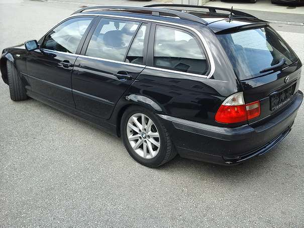 verkauft bmw 320 3er reihe d touring l gebraucht 2004 km in amstetten. Black Bedroom Furniture Sets. Home Design Ideas