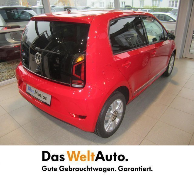 verkauft vw up comfortline gebraucht 2016 256 km in. Black Bedroom Furniture Sets. Home Design Ideas