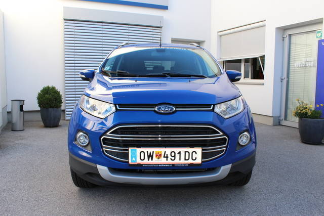 verkauft ford ecosport 1 5 tdci titani gebraucht 2016 km in oberwart. Black Bedroom Furniture Sets. Home Design Ideas