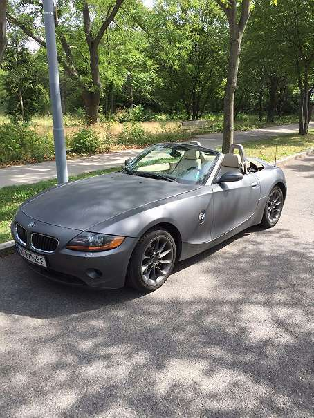 verkauft bmw z4 2 2 cabrio roadster gebraucht 2004 km in wien. Black Bedroom Furniture Sets. Home Design Ideas