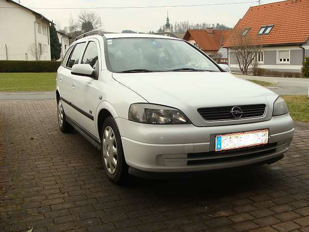 verkauft opel astra t98 kombi gebraucht 2003 km in wies. Black Bedroom Furniture Sets. Home Design Ideas