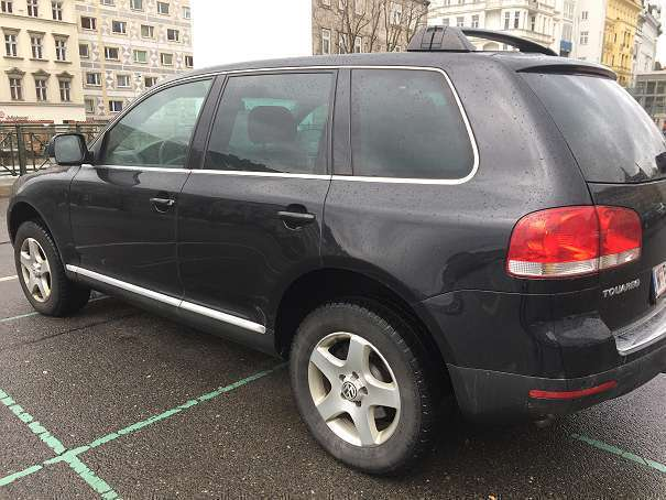 verkauft vw touareg suv offroad gebraucht 2005 km in wien bezirk. Black Bedroom Furniture Sets. Home Design Ideas
