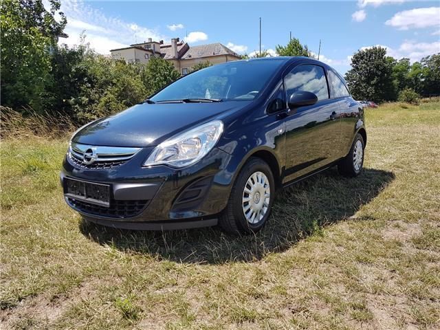 gebraucht 1 2 icon edition opel corsa 2012 km. Black Bedroom Furniture Sets. Home Design Ideas