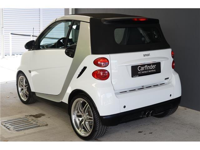 gebraucht brabus smart fortwo cabrio 2011 km in gablitz. Black Bedroom Furniture Sets. Home Design Ideas