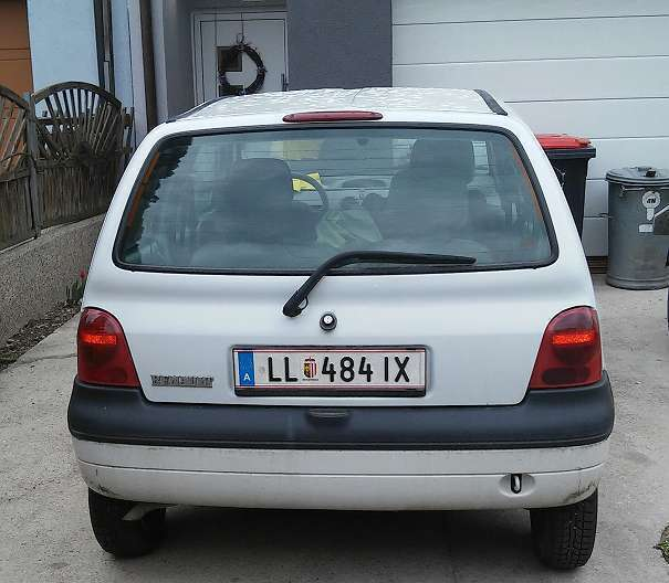 verkauft renault twingo matic gebraucht 1998 km in eggendorf. Black Bedroom Furniture Sets. Home Design Ideas