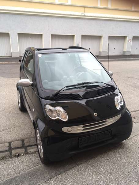 gebraucht roadster smart fortwo cabrio 2006 km. Black Bedroom Furniture Sets. Home Design Ideas