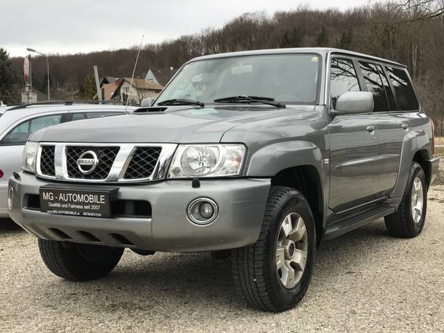 verkauft nissan patrol gr wagon 3 0 16 gebraucht 2004 km in gablitz bei wien. Black Bedroom Furniture Sets. Home Design Ideas