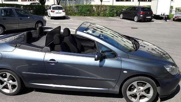 verkauft peugeot 307 cc 1 6 16v cabrio gebraucht 2004 km in braunau neustadt. Black Bedroom Furniture Sets. Home Design Ideas