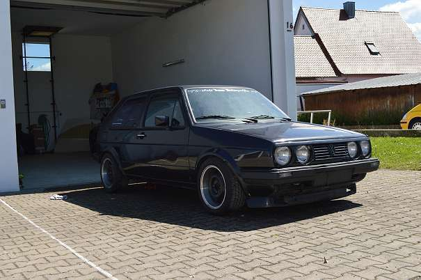 Gebraucht Vw Golf Ii Gti Kompressor Nothelle Motorsport Sportwagen Coupé