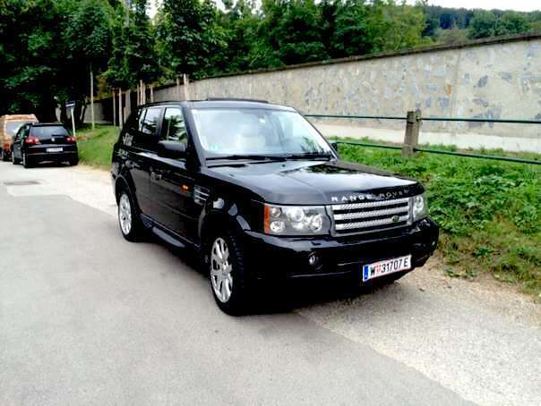 verkauft land rover range rover sport gebraucht 2007 km in wien. Black Bedroom Furniture Sets. Home Design Ideas