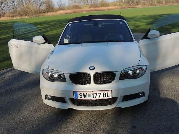 verkauft bmw 118 cabriolet 1er reihe i gebraucht 2011 km in bruck an der leitha. Black Bedroom Furniture Sets. Home Design Ideas