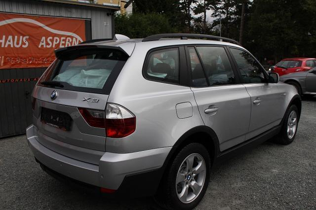 verkauft bmw x3 2 0d suv gel ndewage gebraucht 2007 km in wien. Black Bedroom Furniture Sets. Home Design Ideas