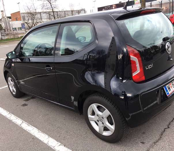 verkauft vw up up highblack edition k gebraucht 2012 km in wien. Black Bedroom Furniture Sets. Home Design Ideas
