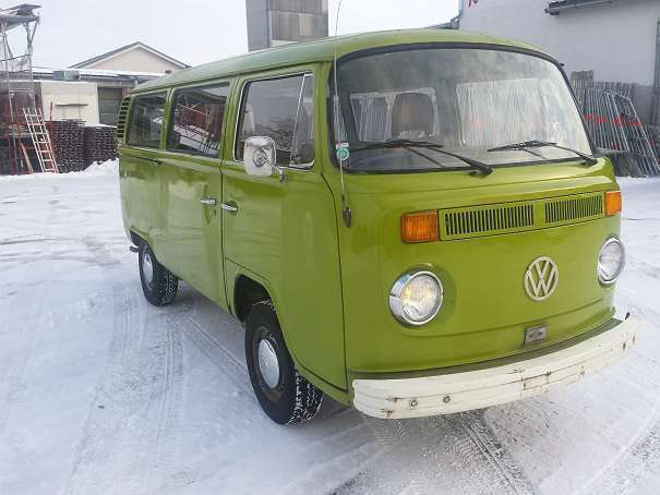 verkauft vw transporter t2 kleinbus gebraucht 1976 68. Black Bedroom Furniture Sets. Home Design Ideas