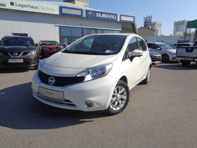 verkauft nissan note 1 2 acenta gebraucht 2016 km. Black Bedroom Furniture Sets. Home Design Ideas