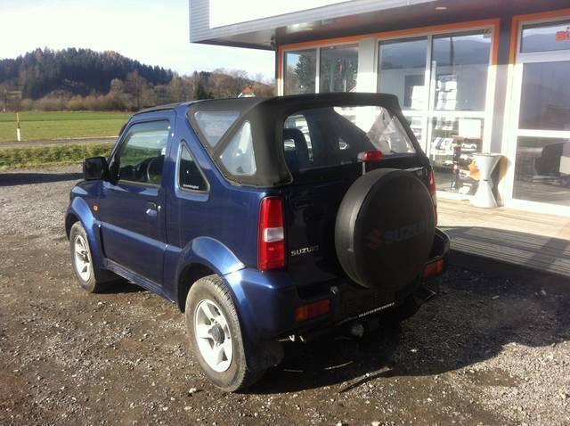 verkauft suzuki jimny 1 3 lx cabrio gebraucht 2007 km in m hlen. Black Bedroom Furniture Sets. Home Design Ideas