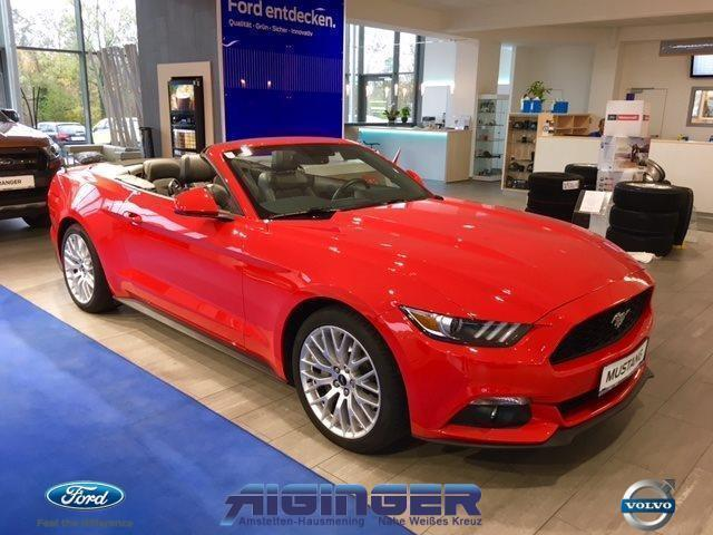 verkauft ford mustang convertible ecob gebraucht 2016 km in hausmening. Black Bedroom Furniture Sets. Home Design Ideas
