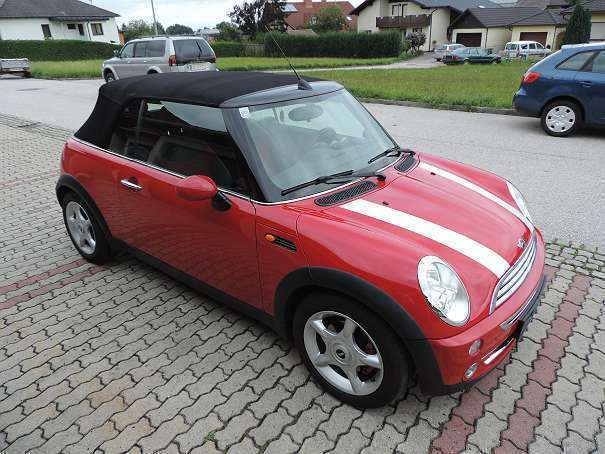 verkauft mini cooper cabriolet cabrio gebraucht 2006 km in bad hall. Black Bedroom Furniture Sets. Home Design Ideas