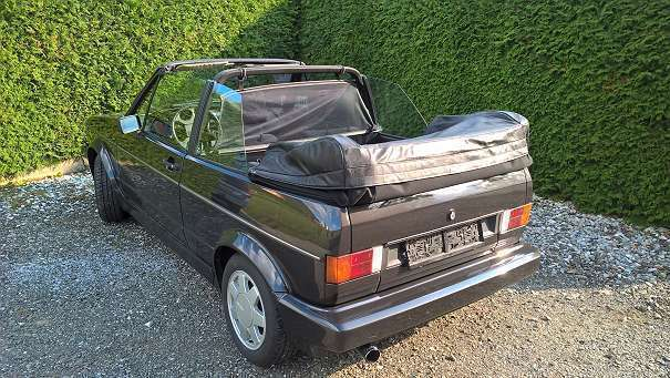 verkauft vw golf cabriolet 1er cabrio gebraucht 1989. Black Bedroom Furniture Sets. Home Design Ideas