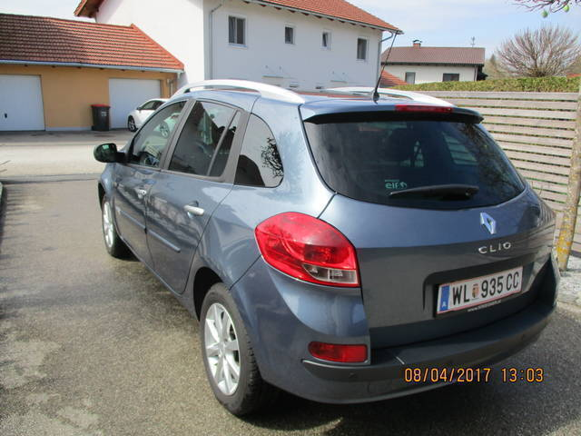 verkauft renault clio grandtour dynami gebraucht 2011 km in krenglbach. Black Bedroom Furniture Sets. Home Design Ideas