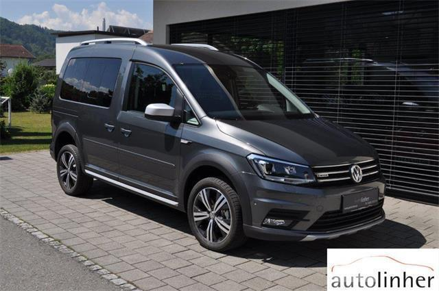 verkauft vw caddy alltrack 2 0 tdi 4mo gebraucht 2018. Black Bedroom Furniture Sets. Home Design Ideas